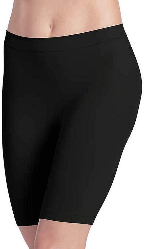 Mid-Length Size S Black-Light 2-Pack Jockey Ladies/' Skimmies Slipshorts