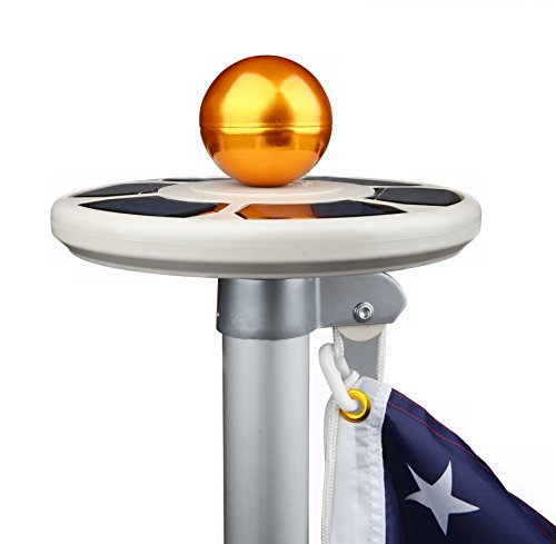 Sunnytech Solar Flagpole Light in US - 1