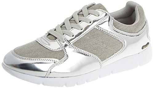 Prata Argento Beppi Unisex Casual Scarpe Shoe Sportive 2152 Adulto 8w18g0qc
