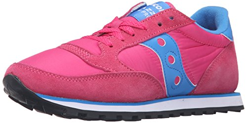 Saucony Originals Women's Jazz Lowpro Fashion Sneakers, Pink/Blue, 7.5 M US
