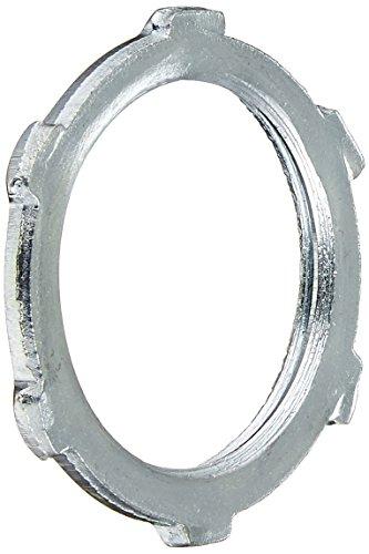 Locknut Conduit Rigid (Halex 61910B Conduit Locknuts Rigid and Intermediate Metallic Conduit (IMC) Fitting Steel (100 Piece), 1