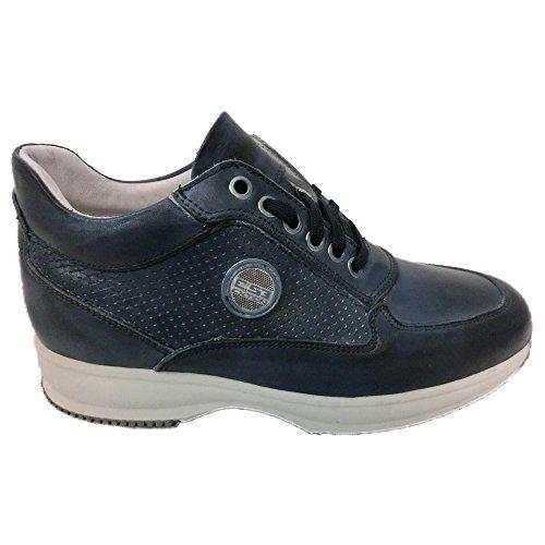 Exton , Baskets pour homme bleu bleu 42