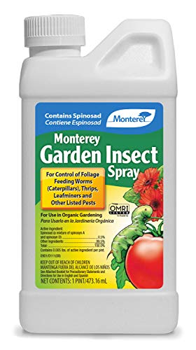 Monterey LG6150 Garden Insect Spray, Insecticide & Pesticide with Spinosad Concentrate, 16 oz, 16 oz
