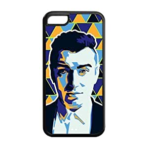 Generic Sam Smith Artistic Effect Triangle Background Custom Cover Cases For Iphone 5C TPU