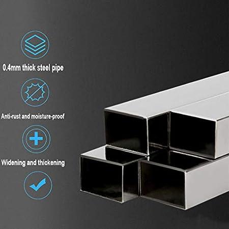 Soporte Lavadora Secadora con 8 Tubo de Acero inoxidable Multi-Funcional Refrigerador Base con 4 Ruedas Giratorias 58-78cm Ajustable Mueble Carro para Movil Electrodomesticos