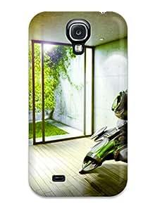 Hot Fashion TXADvFe2119lRcbY Design Case Cover For Galaxy S4 Protective Case (chameleon)