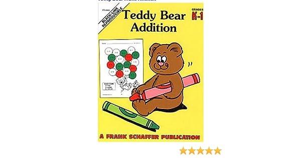 Teddy Bear Addition, Grades K-1: Sue Ryono: 0017257084035: Amazon ...
