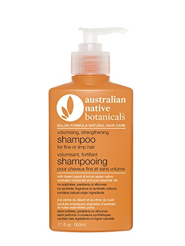 AUSTRALIAN NATIVE BOTANICALS Shampoo for Fine/limp Hair, 17 Ounce