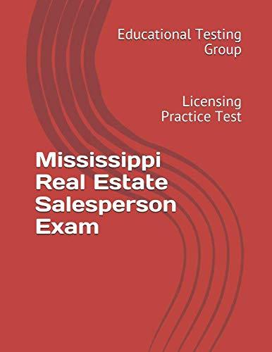 Mississippi Real Estate Salesperson Exam: Licensing Practice Test