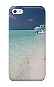 For CagleRaymondy Iphone Protective Case, High Quality For Iphone 5/5s Maldivian Air Taxi Skin Case Cover