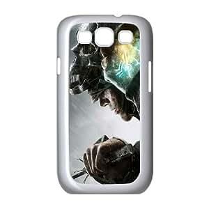 Dishonored L funda Samsung Galaxy S3 9300 caja funda del teléfono celular del teléfono celular blanco cubierta de la caja funda EEECBCAAB14911