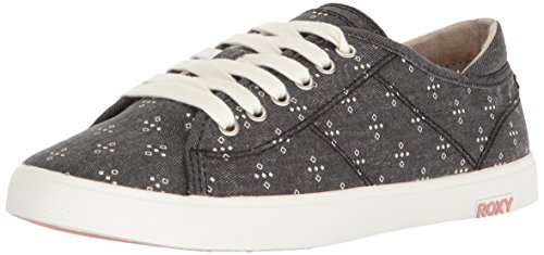 Women's North Graphic Roxy Sneaker Black Shore UqFdv7