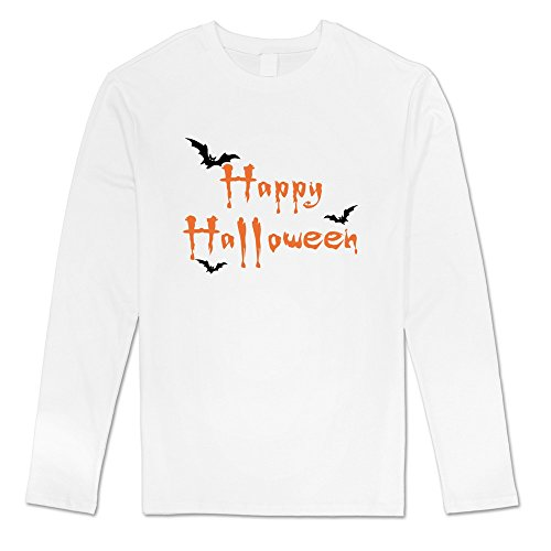 [DF Men Celebrate California Happy Halloween Seattle Tshirt White Print] (Trevor Halloween Costume)