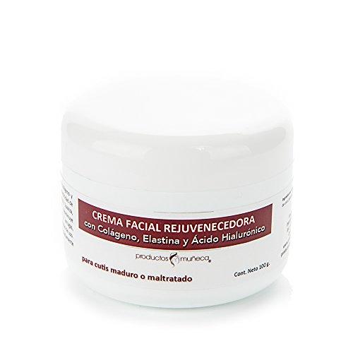 Productos Muñeca Crema de Día con Ácido Hialurónico, Colágeno y Elastina