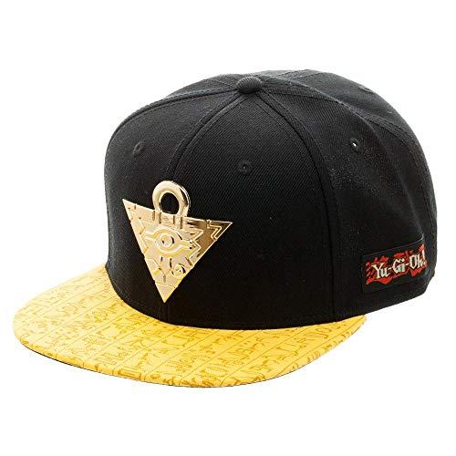 Yu-Gi-Oh Puzzle Snapback Cap Black