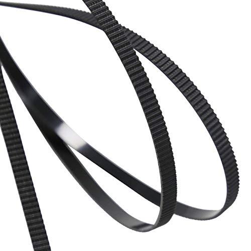 Zamtac 10pcs 1M GT2 Open Timing Belt Width 6mm Rubber Loop Belts for 3D Printer SD998 - (Color: Green) by GIMAX (Image #6)