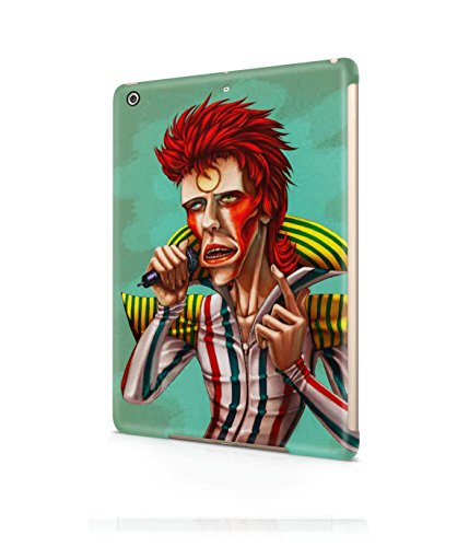 [Ziggy Stardust Costume David Bowie Plastic Snap-On Case Cover Shell For Apple iPad Air] (Kevin Mccallister Costume)