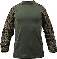 ROTHCO Combat Shirt - Woodland Digital Camo