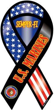 U.S. Marines Ribbon Magnet-Semper-Fi