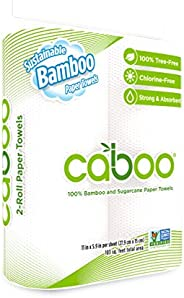 Caboo Paper Products-Paper Towel - 2 Rolls