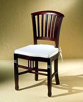 Sit Möbel Stuhl Mahagoni Braun 50 Cm L X 55 Cm B X 95 Cm H