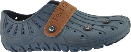 Classic Slip Shoe On Barefooters Blue Azure SfwAxa