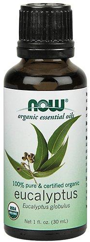 NOW Organic Eucalyptus Globulus Oil, 1-Ounce