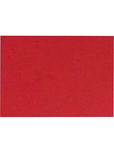 (A2 Flat Card (4 1/4 x 5 1/2) - Ruby Red (50 Qty.))