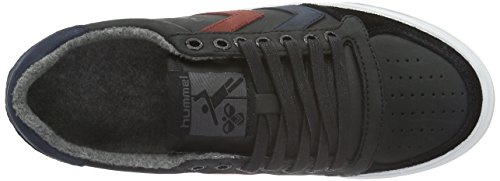 Hummel Slimmer Stadil Duo Oiled Low, Zapatillas Unisex Adulto Negro (Black)