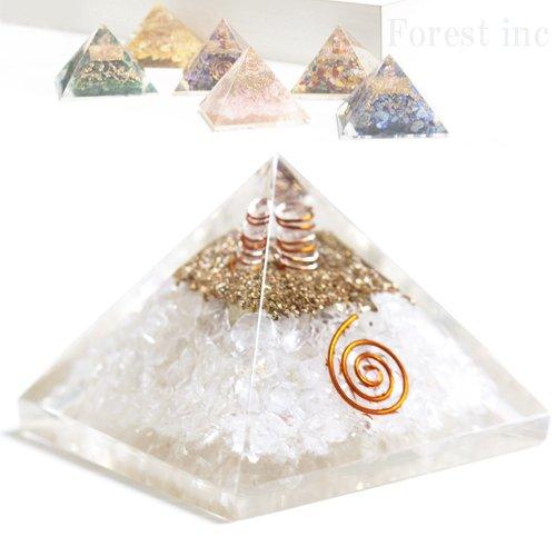 高品質 ピラミッド オルゴナイト レイキ マントラシンボル 置物 【ヒマラヤ水晶】1個 B06X94Q814 【ヒマラヤ水晶】 【ヒマラヤ水晶】