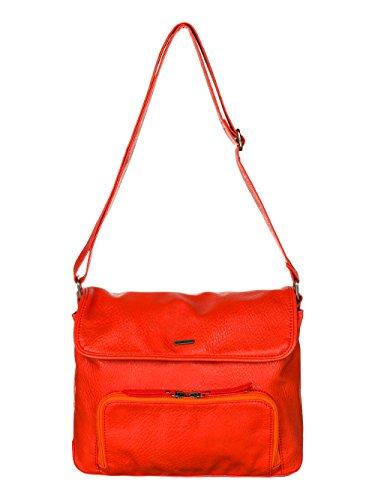 Roxy The Wedge J - Bolso bandolera mujer Naranja - Orange (Fiery Orange)