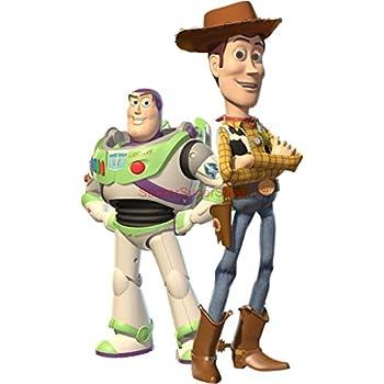 WOODY U0026 BUZZ Toy Story Decal WALL STICKER Decor Art Kids C529 , Large Part 58
