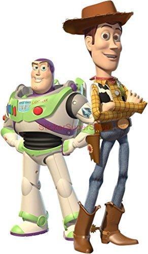 WOODY & BUZZ Toy Story Decal WALL STICKER Decor Art Kids C529 , - Inch 77cm