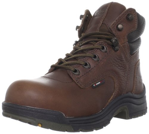 026388210 Timberland PRO Women's Titan Safety Boots - Brown - 8.5 - M by Timberland PRO