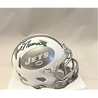 $275 » Joe Namath New York Signed Autograph RARE ICE Mini Helmet Steiner Sports Certified
