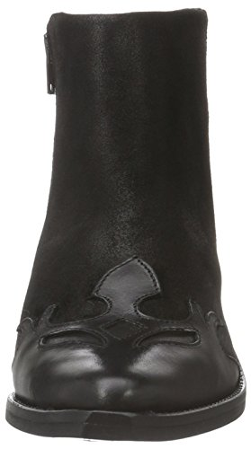 Django Black 01 Women's Bronx Boots Ankle Black qwUdUC8