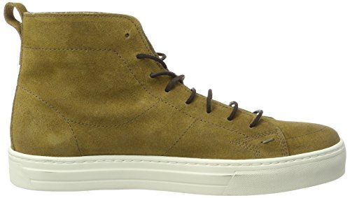 Boss Orange Herren Noir_Halb_sdws Combat Boots, Grün (Medium Green), 46 EU