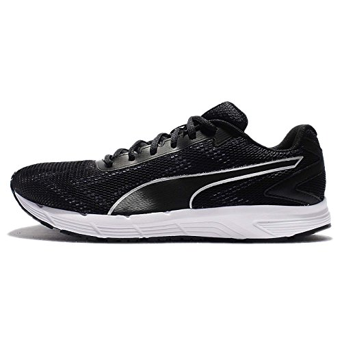 Puma Mens Engine (Puma Men's Engine, PUMA BLACK/PUMA WHITE, 9.5 M US)