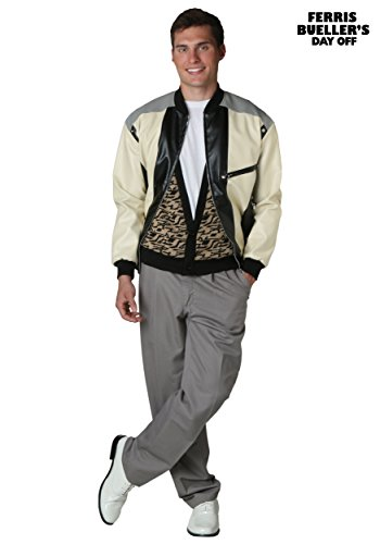 Ferris Bueller 80s Movie Costume for Men in 5 Sizes