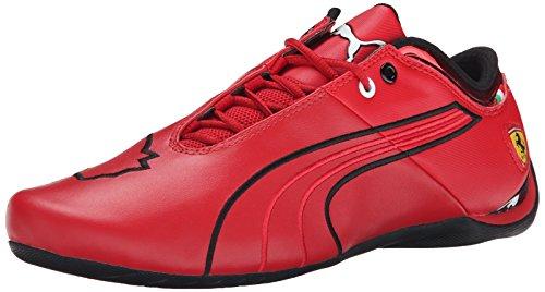 PUMA Men's Future Cat M1 Ferrari Lace-Up Fashion Sneaker, Rosso Corsa/Rosso Corsa/Black, 13 M US (Casual Cat Puma Future)