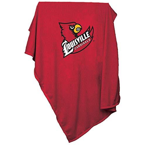 Louisville Blanket - Logo Brands NCAA Louisville Cardinals Sweatshirt Blanket