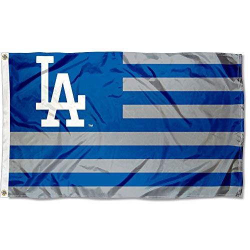 (WinCraft MLB Los Angeles Dodgers Nation Flag 3x5 Banner)