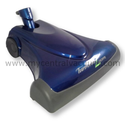 Driven Power Brush - TurboCat Zoom Air-Driven Central Vacuum Power Brush in Sapphire Blue