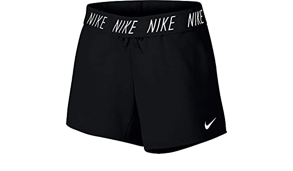 31bde62a85390 Amazon.com : Nike Women's Dry 5'' French Terry Attack Shorts (Black/Large)  : Sports & Outdoors