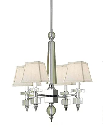 By af lighting candice olson collection mini chandelier crystal by af lighting candice olson collection mini chandelier crystal chrome finish aloadofball Choice Image