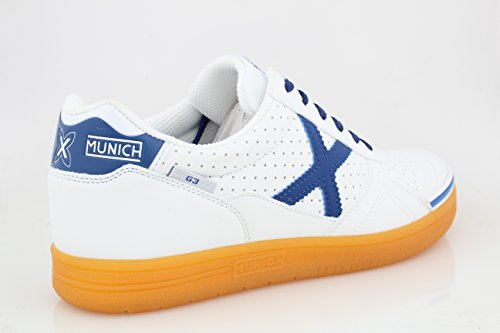 Homme Munich En Spécial Pour Foot Bleu Blanc Salle Chaussures qFCARE