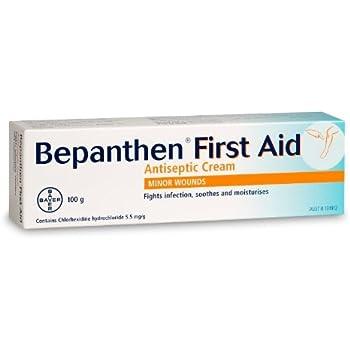 Amazon.com: Bepanthen Plus Antiséptico Herida Curación Crema ...