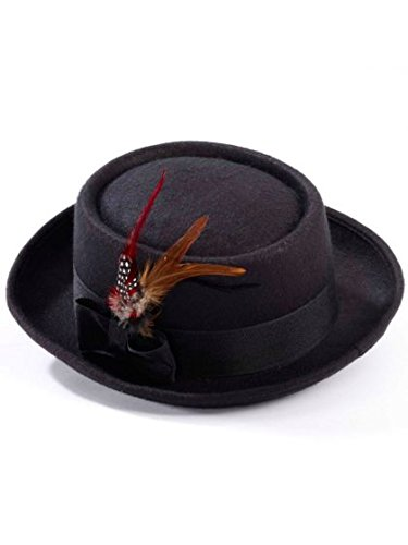 Forum Men's Novelty Deluxe Pork Pie Hat, Multi, One Size (Walter White Pork Pie Hat compare prices)