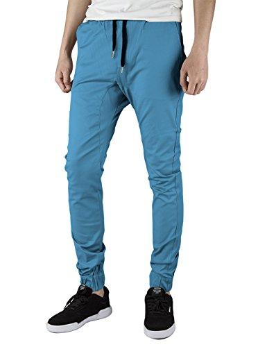 light blue chino pants - 3