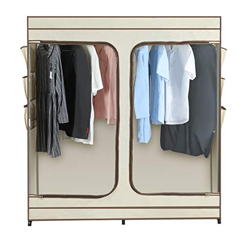 Amazon.com: JEROAL armario de ropa portátil, organizador de ...